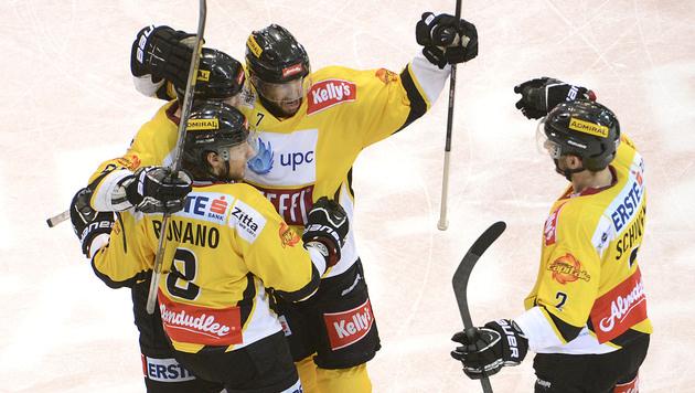 Capitals legen mit 6:2-Sieg Traumstart hin, Linz gewinnt (Bild: APA/HELMUT FOHRINGER)