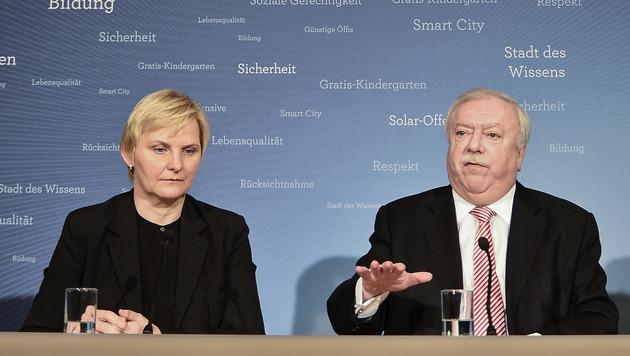 Häupl bestätigt Nein zu Parkpickerl-Diktat und Olympia (Bild: APA/HERBERT NEUBAUER)
