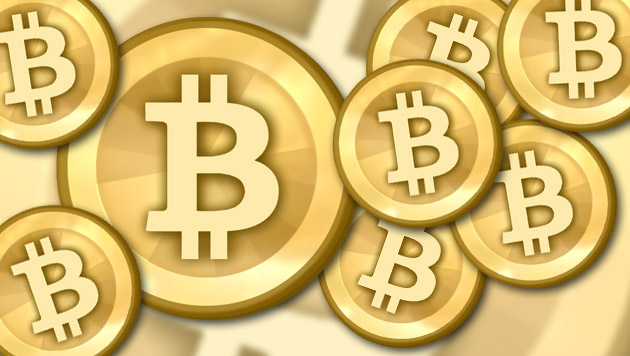Microsoft erlaubt Zahlung mit Bitcoin in den USA (Bild: Bitcoin.org, krone.at-Grafik)