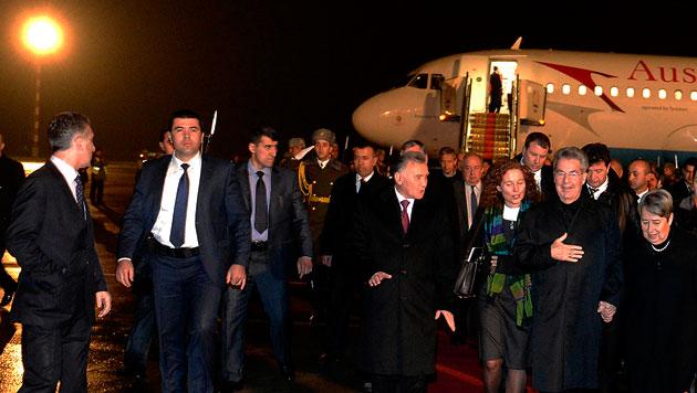 Präsident Fischer als Türöffner der Wirtschaft (Bild: APA/HARALD SCHNEIDER)