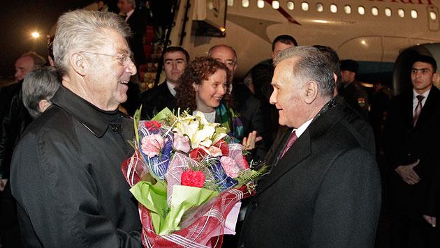 Präsident Fischer als Türöffner der Wirtschaft (Bild: APA/BUNDESHEER/LECHNER PETER)
