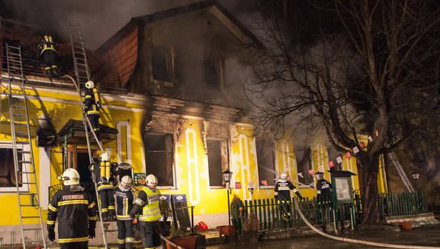 """Brand in Gasthaus gelegt: """"Nicht überall beliebt"""" (Bild: Jürgen Pistracher)"""
