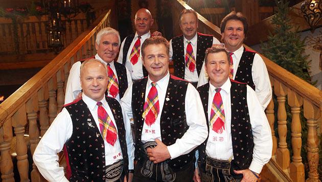 Die Kastelruther Spatzen als Top-Act am Wiesn-Fest! (Bild: EPA)