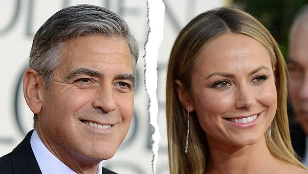 George Clooney soll wieder zu haben sein (Bild: AP)