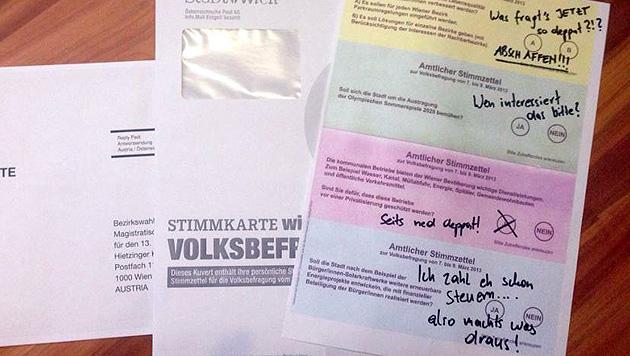 Volksbefragung als Warnschuss für Rot-Grün in Wien (Bild: Andreas Zilka)
