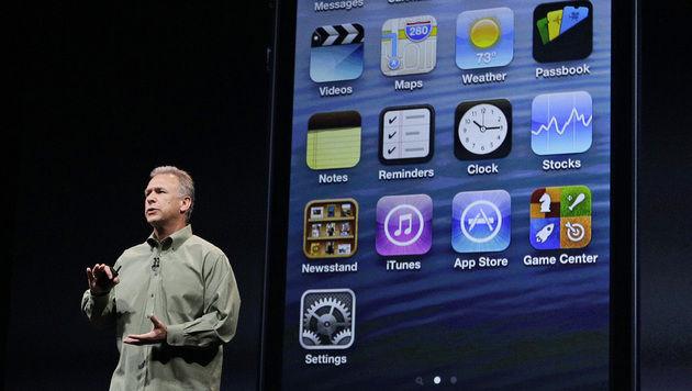 Apple zieht vor Galaxy-Start über Android her (Bild: AP)