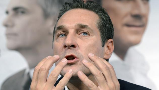 FPÖ: Strache stellt Weichen für die Nationalratswahl (Bild: APA/HANS KLAUS TECHT)