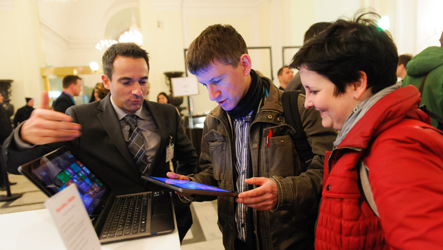 Microsoft lud zur Hausmesse in die Wiener Hofburg (Bild: Microsoft Österreich/Dusek)