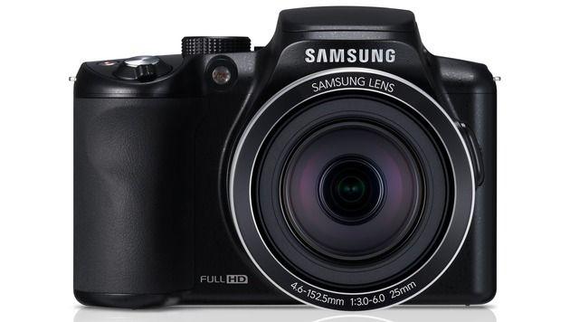 Samsung stellt Bridgekamera mit Super-Zoom vor (Bild: Samsung)