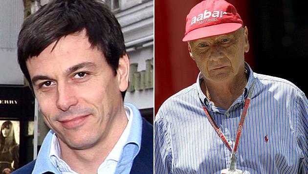 """Wolff und Lauda: """"Hamilton kann zur Legende werden"""" (Bild: APA/BAVARIASPORTS, EPA)"""