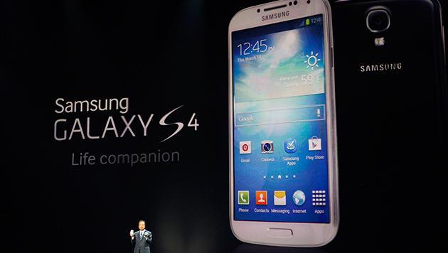 Augensteuerung: LG sieht Patent durch Samsung verletzt (Bild: AP)