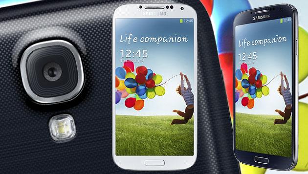 Samsungs Galaxy S4 schon ab Ende April in Österreich (Bild: Samsung, krone.at-Grafik)