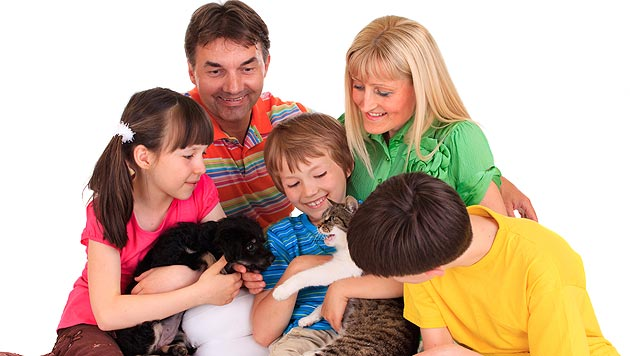US-Studie belegt: Haustiere fördern die Stimmung (Bild: thinkstockphotos.de)