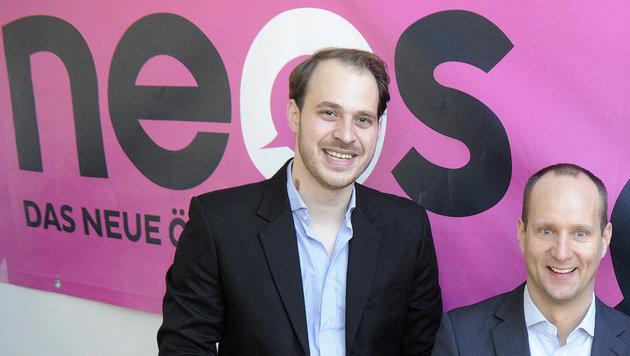 NEOS und LIF ziehen gemeinsam in Nationalratswahl (Bild: APA/HERBERT PFARRHOFER)