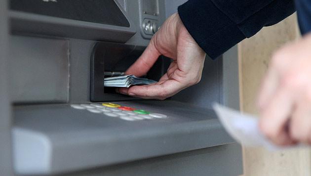 Forscher testen Geldabhebung per Smartphone (Bild: AFP)