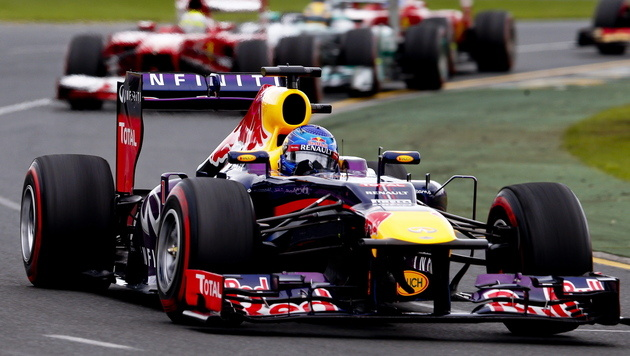 Überraschender Sieg von Räikkönen zum Saisonauftakt (Bild: EPA)