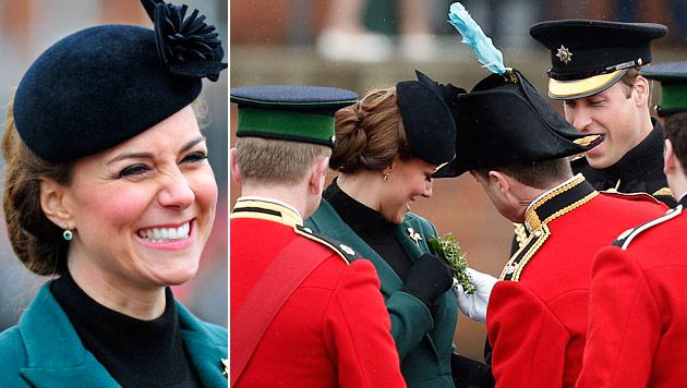 """Kate: """"Ich wünsche mir einen Buben, William ein Mäderl"""" (Bild: AP)"""