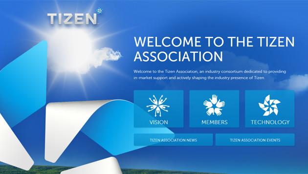 Samsung kündigt erstes Smartphone mit Tizen an (Bild: Screenshot tizenassociation.org)