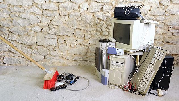 Gemeinde jagt Elektroschrott-Diebe mittels GPS (Bild: thinkstockphotos.de)