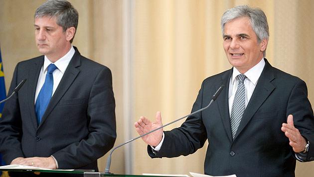 """Spekulationsverbot: """"Auf Wort der FPÖ ist kein Verlass"""" (Bild: APA/Roland Schlager)"""