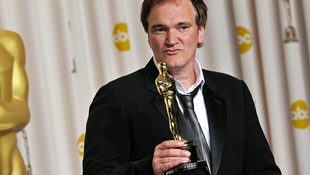 Viel Blut und zwei Oscars: Quentin Tarantino wird 50 (Bild: AP)