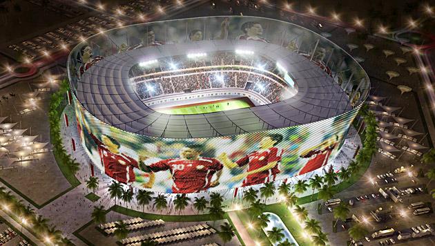 "Alkohol-Konsum bei Katar-WM in ""bestimmten Zonen"" (Bild: EPA)"