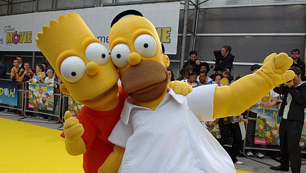 Bart Simpson in Großbritannien von Mr. Burns verurteilt (Bild: EPA)