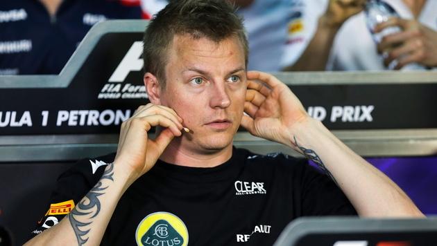 Räikkönen bekommt Bestnote von Lotus-Teamchef (Bild: EPA)