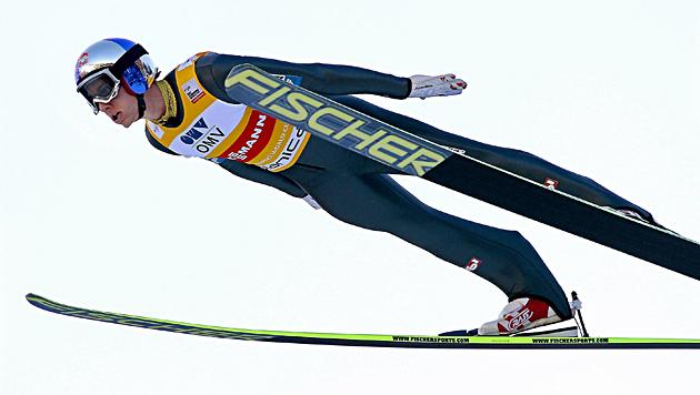 """""""Schlieri"""" holt 50. Weltcup-Sieg und Skiflug-Wertung (Bild: EPA)"""