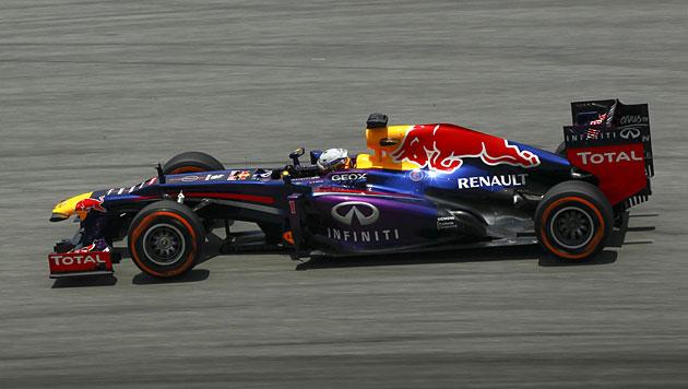 Weltmeister Vettel holt in Sepang Pole vor Massa (Bild: EPA)