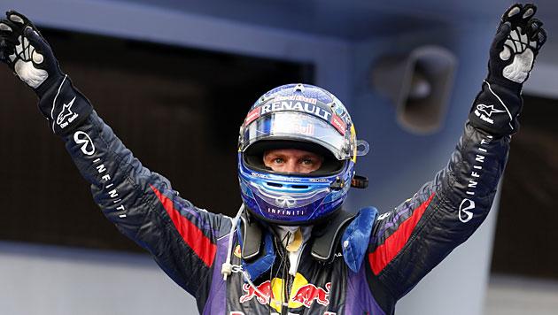 Vettel gewinnt GP von Malaysia vor Webber (Bild: AP)