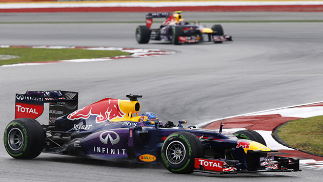 Vettel und Red Bull hoffen auf ersten Sieg in Montreal (Bild: AP)