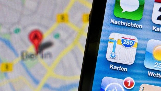 Apple kauft Spezialisten für Indoor-Navigation (Bild: dpa/Florian Kleinschmidt)