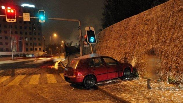 Etliche Unfälle in Österreich wegen Winterwetters (Bild: BPD Wien)