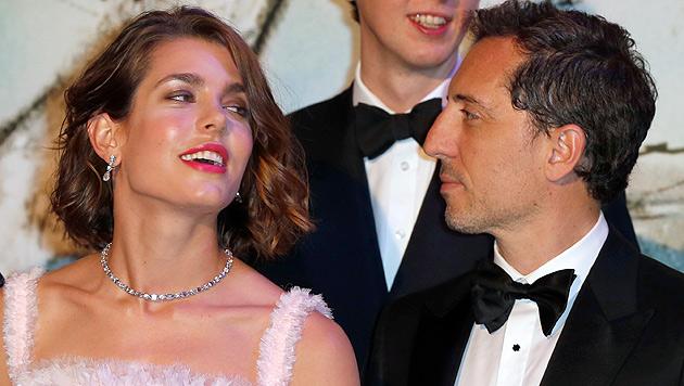 Monacos Charlotte mit Star-Komiker Gad Elmaleh liiert (Bild: AP)
