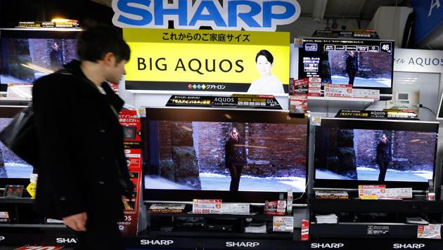 Gespräche über Foxconn-Einstieg bei Sharp dauern an (Bild: EPA)
