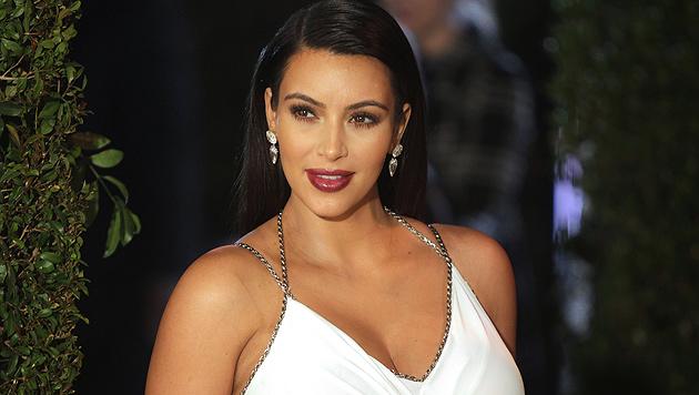 """Kim Kardashian will bei ihrem Baby dem """"K"""" treu bleiben (Bild: AP)"""