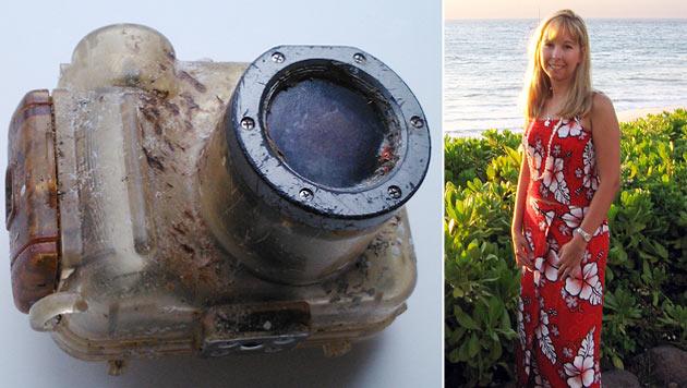 Verlorene Kamera nach sechs Jahren wieder aufgetaucht (Bild: AFP)