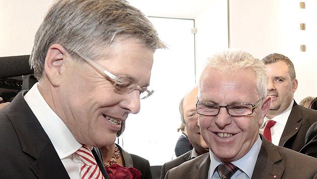 Peter Kaiser ist neuer Kärntner Landeshauptmann (Bild: APA/GERT EGGENBERGER)