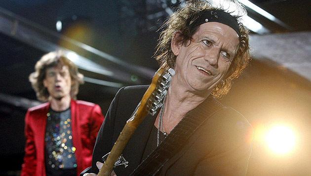 Rock-Saurier Rolling Stones headlinen das Glastonbury (Bild: EPA)