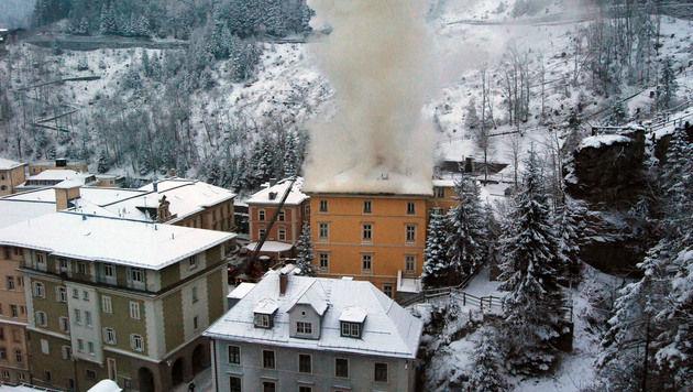 Blutspur führt zu Brandstifter-Duo von Bad Gastein (Bild: Konrad Rauscher)