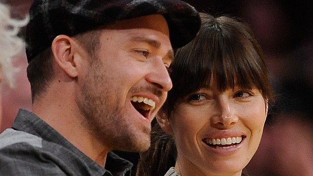 Justin Timberlake wird für Jessica Biel zum Nichtraucher (Bild: EPA)