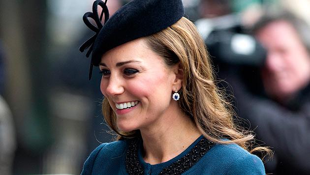 """Kate will Babyparty schmeißen, Queen ist """"not amused"""" (Bild: EPA)"""