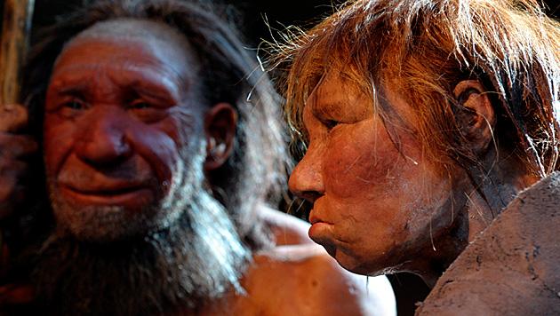 Studie: Bei den Neandertalern gab es Kannibalismus (Bild: EPA (Symbolbild))