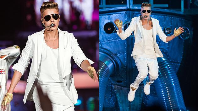 Justin Bieber mit Pop-Spektakel in der Stadthalle (Bild: Andreas Graf)