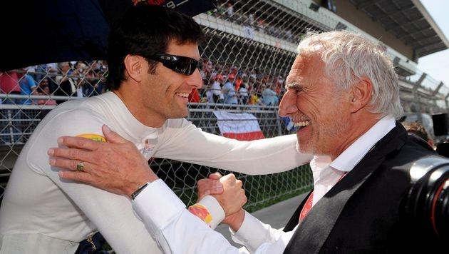 """Mateschitz: """"Mark Webber ist bei uns immer willkommen"""" (Bild: EPA)"""