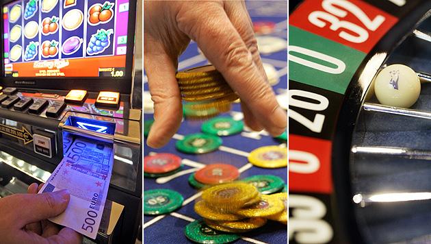 Schlacht um Casinos für Wien und NÖ geschlagen (Bild: Apa/Georg Hochmuth, dpa/A3794 Peter Steffen)