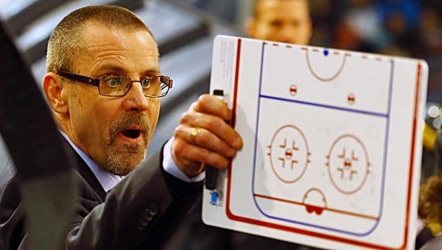 Capitals trennen sich von Trainer Samuelsson (Bild: APA/DANIEL KRUG)