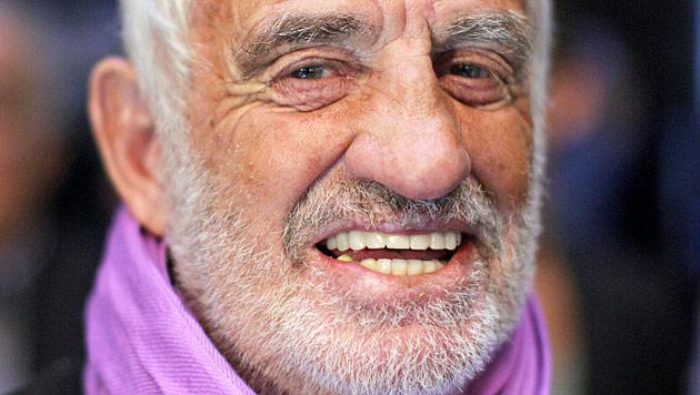 Belmondo: Auch mit 80 noch nicht außer Atem (Bild: dpa/Rolf Vennenbernd)