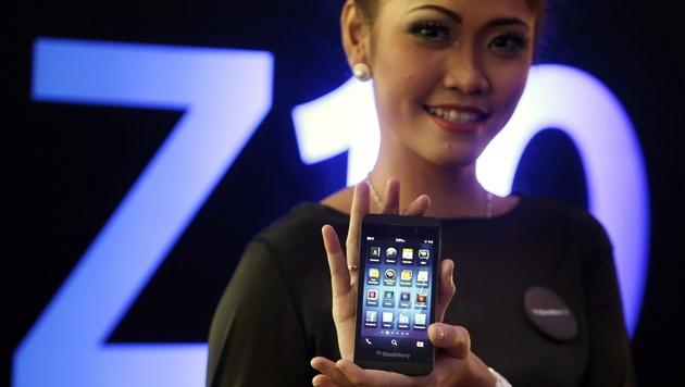 Blackberry verrät Freunden, wenn Nutzer Porno schaut (Bild: EPA)